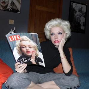 Marilyn Monroe Artist; Pamela Jean - Marilyn Monroe Impersonator in Dayton, Ohio