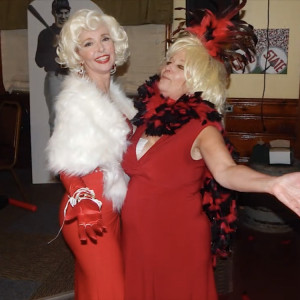 MarilynMonroe&PhyllisDiller  Comedy Show - Marilyn Monroe Impersonator in Orlando, Florida