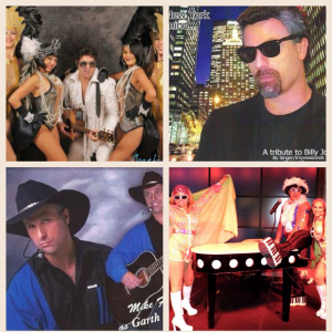 Michael E Show - One Man Band/DJ/Singing Impersonator/Telegrams - Tribute Artist / Singing Telegram in Fort Lauderdale, Florida