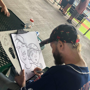 Mike Gezze - Caricaturist in Cleveland, Ohio