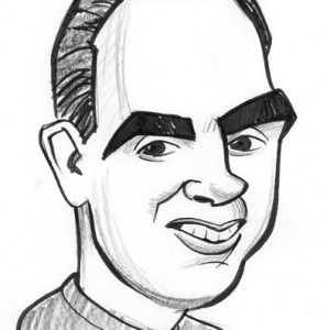 Mike Tofanelli Caricature - Caricaturist in Sacramento, California