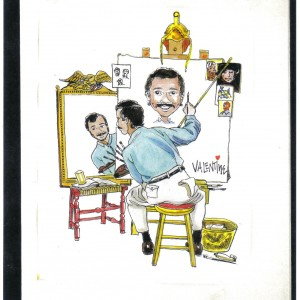 Mike Valentine Caricature Artist - Caricaturist / Balloon Twister in Orlando, Florida