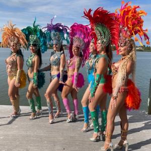 Hollywood At Your Door - Samba Dancer in St Petersburg, Florida