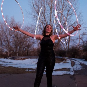 Miss Mad About Hoops - Circus Entertainment in Westminster, Colorado