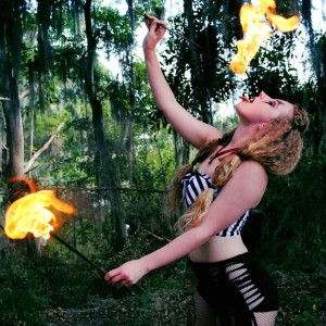 Miss Tay - Fire Performer / Party Rentals in Palm Beach Gardens, Florida