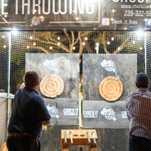 Mobile Axe Throwing - Mobile Game Activities in Fort Myers Beach, Florida