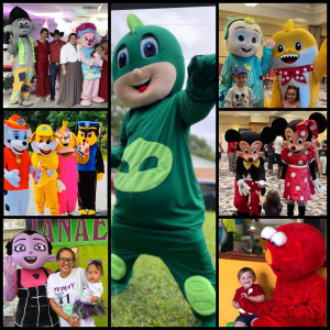 Mobile Party Characters LLC - Children's Party Entertainment / Airbrush Artist in Palm Coast, Florida