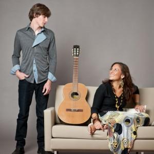 Monica da Silva & Chad Alger - Acoustic Band / Bossa Nova Band in Yountville, California