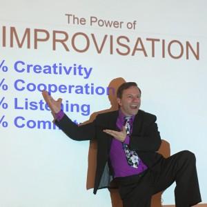 Motivation with interactive improv! - Motivational Speaker in San Diego, California