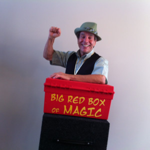 Mr Mike and his Big Red Box of Magic - Children's Party Magician / Children's Party Entertainment in Albany, New York