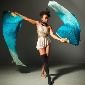 Nnedi Nebula Performance Art - Fire Dancer in Austin, Texas