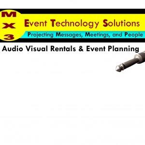 MX3 Audio Visual Rentals - Video Services / Sound Technician in Charlottesville, Virginia