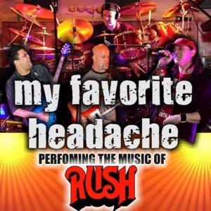 My Favorite Headache - A RUSH Tribute - Rush Tribute Band in Toronto, Ontario