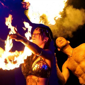 Hopes Fire Fantasies / Natalie Hope - Fire Performer / Fire Eater in Queens Village, New York