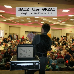 Nate the Great Magician and Balloon Art - Magician in Brunswick, Ohio