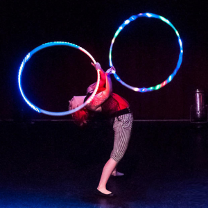 Neon Emu / Lindsey Savage - Hoop Dancer / Fire Eater in Omaha, Nebraska