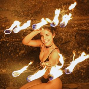 Victori Performance Art - Fire Dancer in San Diego, California