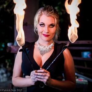 Nikki Nuke'm - Fire Eater in Marietta, Georgia