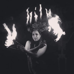 Nikki Talis - Fire Eater in New York City, New York