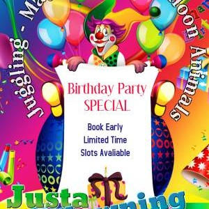 Justa Clowning Around Clown For Hire - Clown / Balloon Twister in Modesto, California