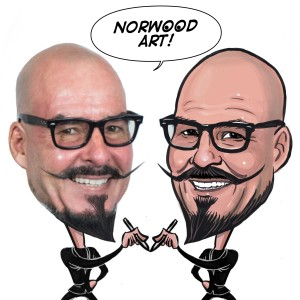 NorwoodArt.com - Caricatures by Norwood - Caricaturist in Placentia, California