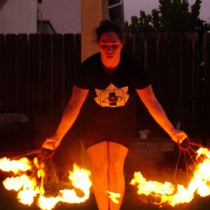 Nyx Wickentower - Fire Performer / Fire Dancer in San Diego, California