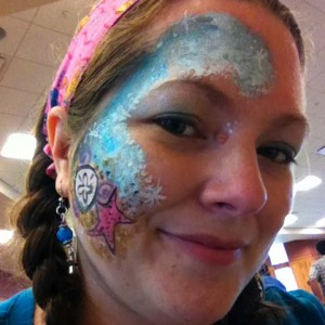 Other Fish Face Painting - Face Painter in Sussex, New Brunswick