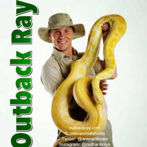 Outback Ray's Amazing Animal Show - Animal Entertainment / Petting Zoo in Akron, Ohio
