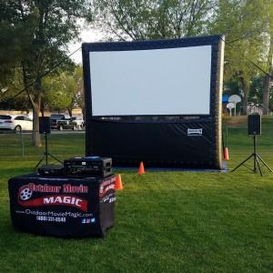 Outdoor Movie Magic - Outdoor Movie Screens in Queen Creek, Arizona