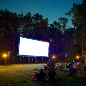Outdoor Movie Ninja of CT, NY, Long Island & NJ - Outdoor Movie Screens in Stamford, Connecticut