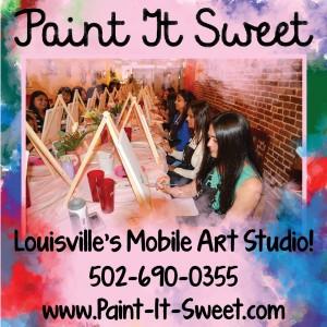 Paint it Sweet - Arts & Crafts Party in Louisville, Kentucky