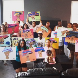 Paint MOORE with Antonio Paint Classes - Arts & Crafts Party in Edgewood, Maryland