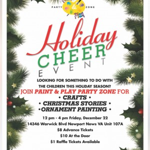 Paint &  Play Party Zone - Arts & Crafts Party in Newport News, Virginia