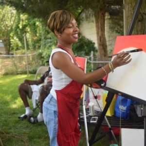 Paint The Town Red - Arts & Crafts Party in District Heights, Maryland