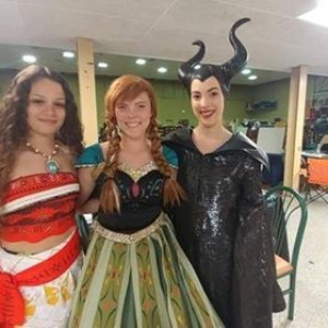 Acadiana Princess Parties by Peekaboo Faces - Face Painter / Children's Party Entertainment in Lafayette, Louisiana