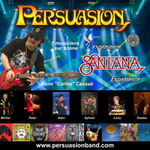 Persuasion - Santana Tribute Band in Montreal, Quebec