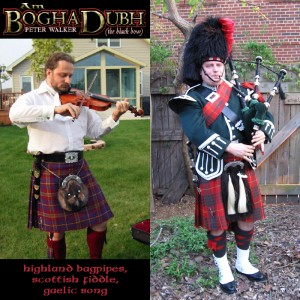 Peter Walker - Am Bogha Dubh (The Black Bow) - Bagpiper / Celtic Music in Alexandria, Virginia