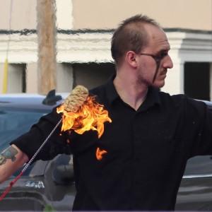 Phoenix Drako Aguilar - Fire Performer / Fire Eater in Galveston, Texas