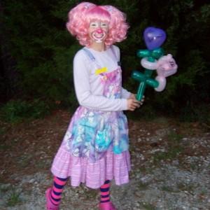 Pink Peppermint the Clown