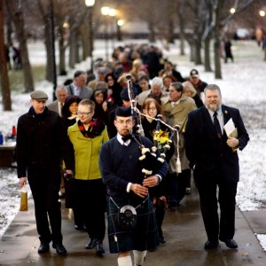 Pittsburgh Bagpiper Sean O'Donnell