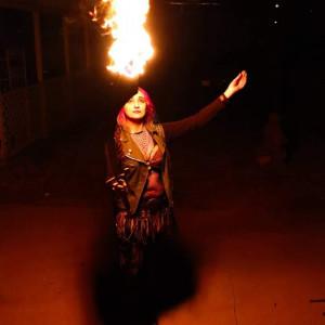 Prabvi GuaLoa - Fire Dancer in Las Cruces, New Mexico