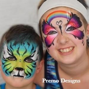 Premo Designs - Face Painter in Schenectady, New York