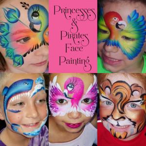 Princesses & Pirates - Face Painter in Tampa, Florida