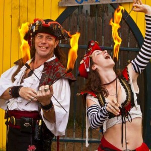 Pyro Pirates - Fire Eater in Apache Junction, Arizona