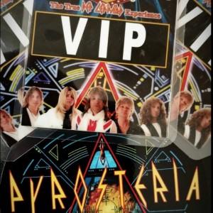 PYROSTERIA  The Def Leppard Tribute - Tribute Band in Phoenix, Arizona