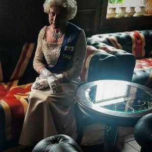 Queen of England. Queen Elizabeth - Impersonator in West Hollywood, California