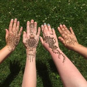 Rachel's Henna Art - Henna Tattoo Artist / Body Painter in Fitchburg, Massachusetts