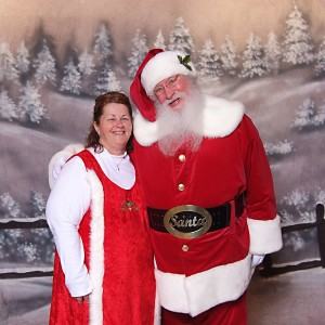 Smiling Santa - Santa Claus in New Philadelphia, Ohio