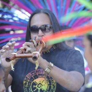 Red Spirit - Flute Player in Farmington, New Mexico
