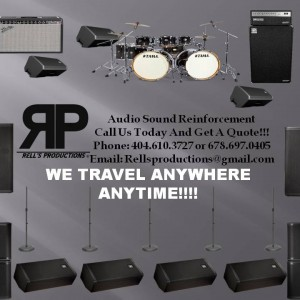Rell's Productions Audio Sound Reinforcement - Sound Technician in Greensboro, North Carolina